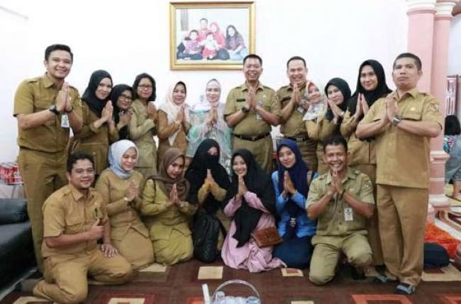 Jalin Silaturahmi, Kadis PUPR Gelar Halal Bi Halal