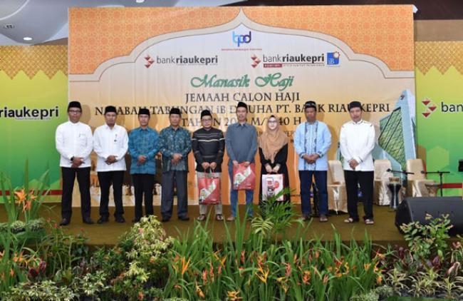 Ratusan Jemaah Calon Haji Tabungan iB Dhuha Bank Riau Kepri Antusias Ikuti Bimbingan Haji