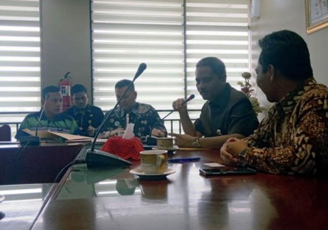 Pemprov Riau Terima Kunjungan Kementerian ESDM RI