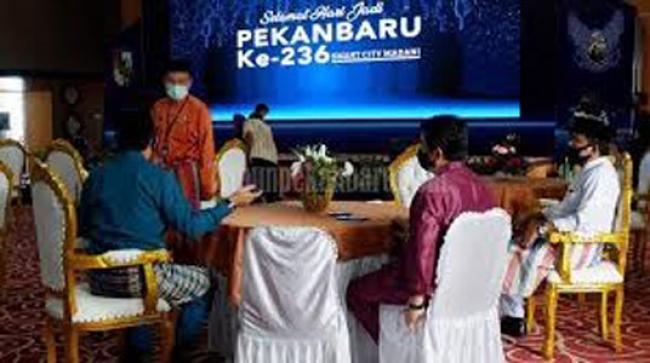 Ditengah Pandemi Covid-19 Perayaan Hari Jadi Pekanbaru ke-236 Berlangsung Sederhana