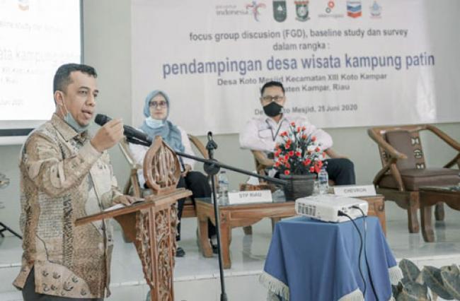 Kadispar Riau Roni Rakhmat Bagikan Tips Mengembangkan Desa Wisata