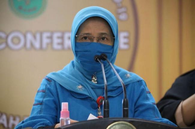Update COVID-19 Riau: Sembuh Bertambah 637 Orang, 345 kasus Baru, 13 Meninggal