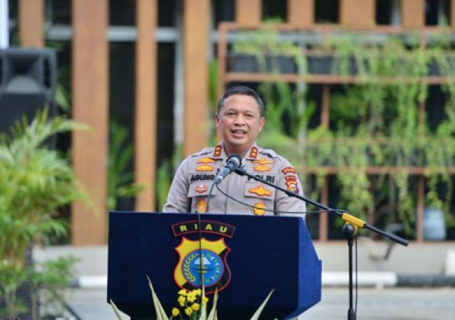 Kapolda Riau Harap Vaksin Center Jadi Tempat Nyaman Untuk Vaksinasi Covid-19