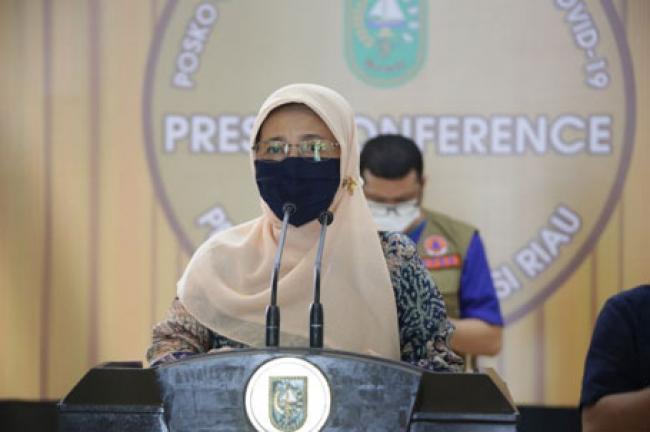 Positif COVID-19 di Riau Bertambah 224 Kasus, Pasien Sembuh 352 dan 7 Meninggal