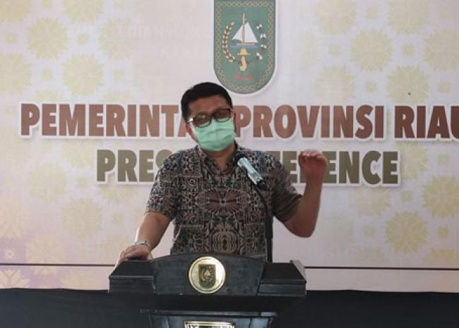 Jubir Satgas COVID-19 Riau Sebut Pesta Pernikahan di Riau Banyak Abaikan Prokes