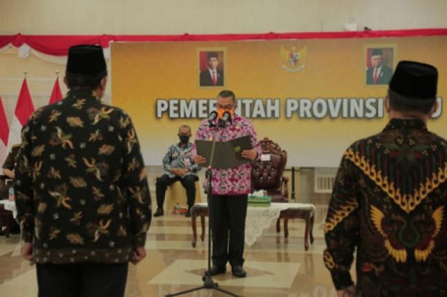 Lantik Pengurus FKUB Riau yang Baru, Wagubri: Jaga Toleransi Antar Umat Beragama