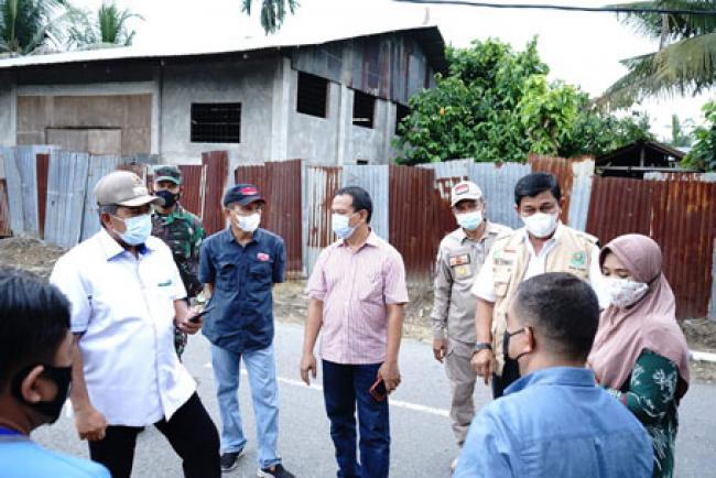Bupati Alfedri Tak Kenal Lelah Perangi Pandemi Covid-19