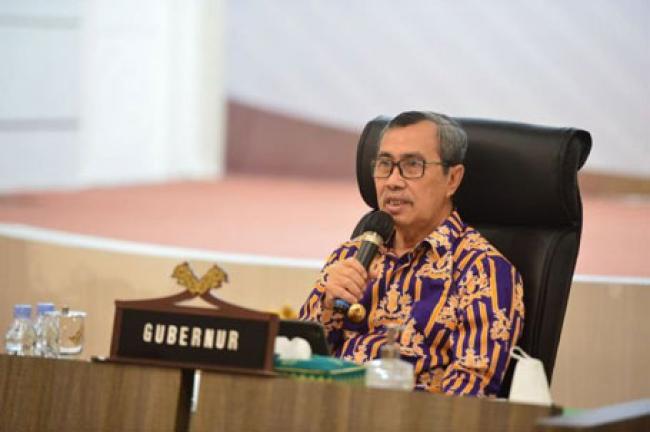 Terima Kunker Komisi IX DPR RI, Gubri Paparkan Upaya Pengendalian Covid-19 di Riau