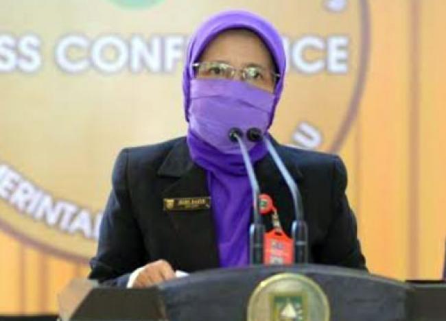 Pasien Sembuh COVID-19 Riau Hari Ini 452 Orang, Terkonfirmasi Positif 327 Orang