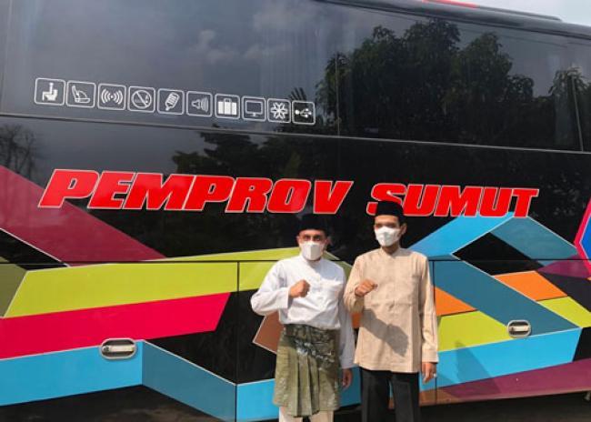 Gubernur Sumut Berkunjung ke Rumah Quran Milik UAS