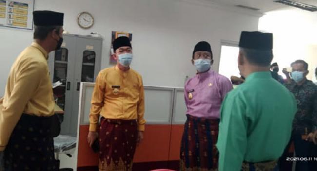 Wabup Rohil Hadiri RUPSLB PT Bank Riau Kepri Tahun 2021