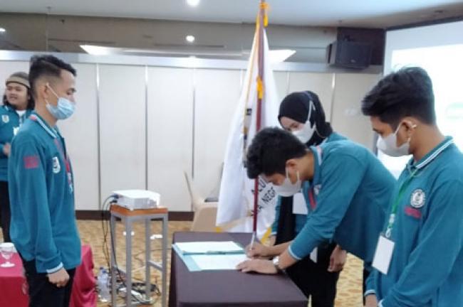 Khalid Ardi Nahkodai Angkatan Muda Ikasmansa Pekanbaru
