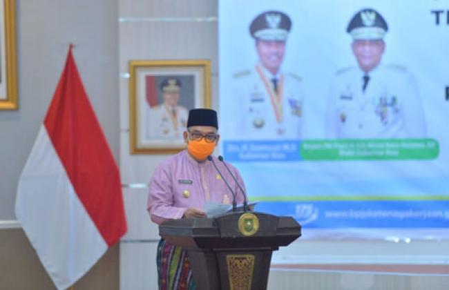 Wagubri: 511.694 Tenaga Kerja di Riau Jadi Peserta BPJS Ketenagakerjaan