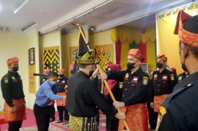 Resmi Dikukuhkan, Yudi Syafruddin Nakhodai Penggawa LAM Riau BKO Kota Pekanbaru