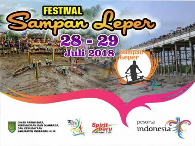 Pemkab Inhil Kembali Selenggarakan Festival Tahunan Sampan Leper