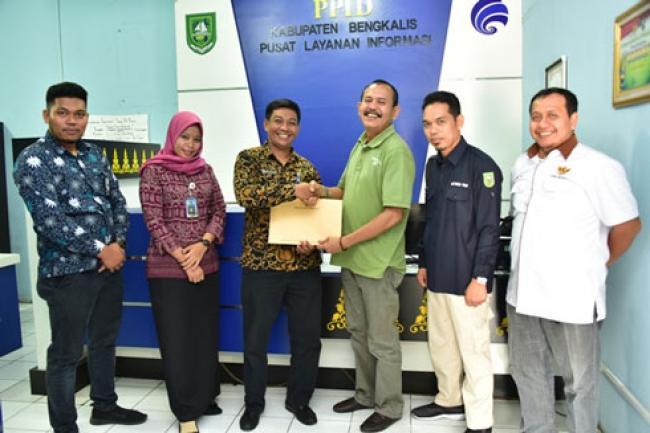 KI Riau Ingatkan PPID Perangkat Daerah untuk saling bekerjasama