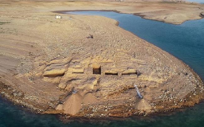 Waduk Ini Kering, Munculah Istana dari Abad ke-15 SM