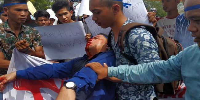 Tuntut PT Hutahaean, Faisal Nekat Pecahkan Gelas Di Kepala