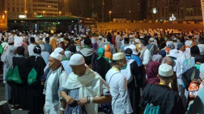 Bus Shalawat Padat di Jam Salat, Jemaah Haji Perhatikan Ini