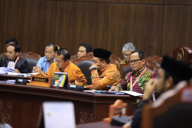 Tujuh Sengketa Pileg di Riau Mulai Disidang MK