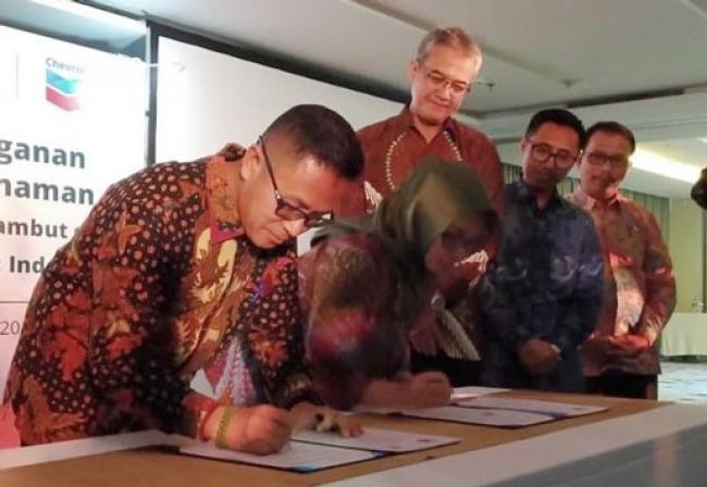 BRG Bersama PT Chevron Indonesia Kembangkan Desa Peduli Gambut
