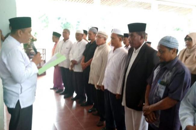 Amrizal Lantik Pengurus MUI Bandar Laksamana 2017-2022