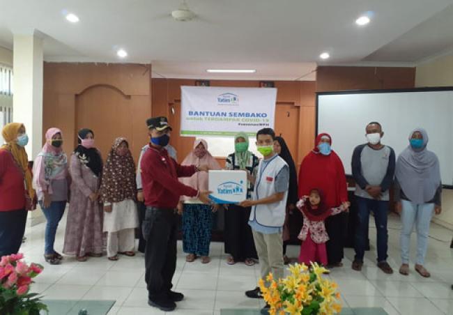 Rumah Yatim Kembali Salurkan Puluhan Paket Sembako di 2 Kecamatan Kota Pekanbaru