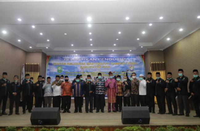 IKMK Kabupaten Siak 2020-2024 Dikukuhkan, Siap Dukung Agenda Pembangunan Daerah