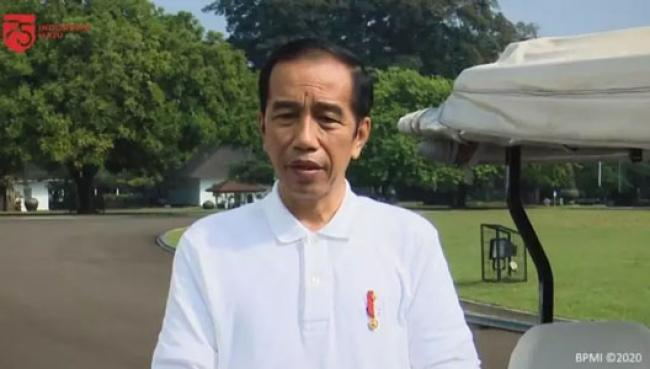 Hasil Swab Test Jokowi dan Iriana Negatif Covid-19