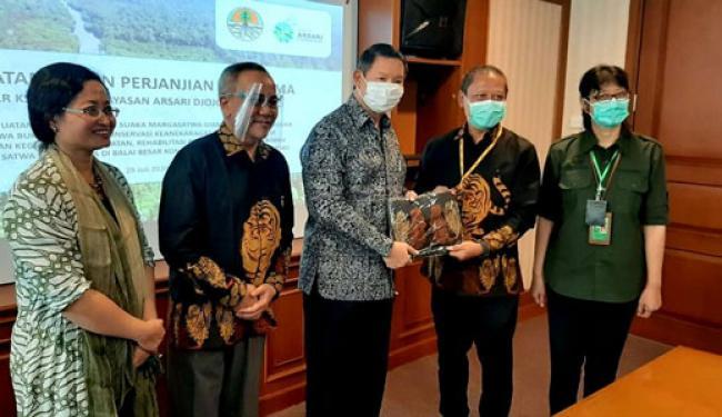 Riau Akan Miliki Pusat Konservasi Harimau Sumatera