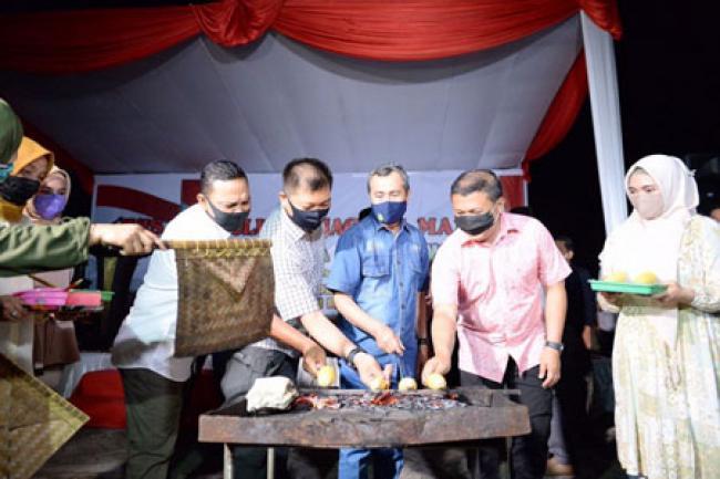 Gubri Apresiasi Wisata Kuliner Jagung Manis Gerakan Jaga Kampung