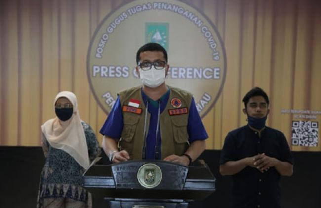 Update Covid-19 Riau: Tambah 1 Kasus Positif dan 5 Sembuh