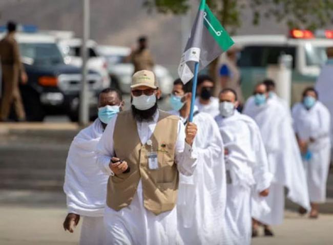 Jamaah Haji Wukuf di Tengah Suhu 41 Derajat Celsius