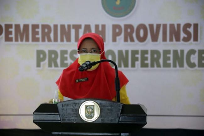Terkonfirmasi Positif COVID-19 di Riau Didominasi Usia 18-40 Tahun
