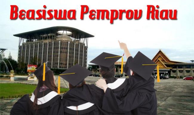 Pemprov Riau Kembali Buka Seleksi Penerima Beasiswa S1, S2 dan S3