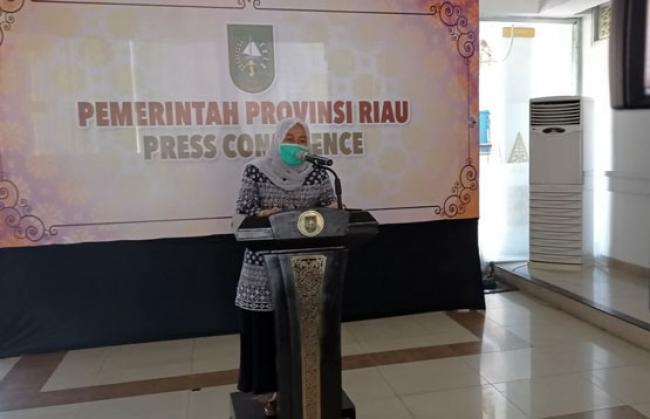 Diskes Riau Ingatkan Masyarakat Waspadai Momen-Momen Penularan COVID-19