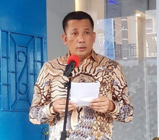 Sambut Idul Adha, Bupati HM Adil Sholat Id di Kecamatan Rangsang