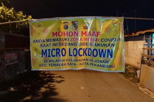 Waspada Covid-19, 33 Kelurahan di Pekanbaru Zona Merah
