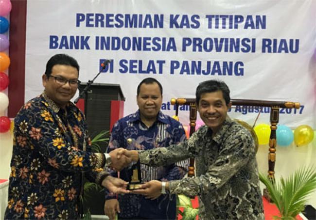 Bank Riau Kepri Dipercaya Bank Indonesia Sebagai Pengelola Kas Titipan di Selatpanjang