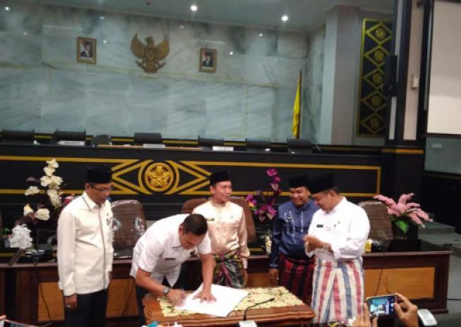 Sertijab Plt Sekwan DPRD Pekanbaru, Alek Kurniawan Ingin Lanjutkan yang Ada