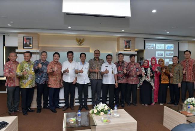 Penerapan Pajak Online Kerjasama Pemko Batam Dengan Bank Riau Kepri Jadi Contoh Daerah Lain
