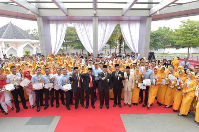 Meriahnya HUT RI Ke-73, Bank Riau Kepri Gelar Lomba Seni Budaya Melayu Berbasis Digital