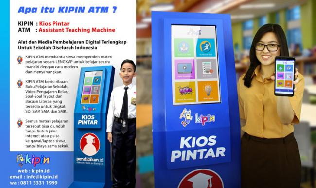 KIPIN ATM  Menjawab Tantangan Era Digital untuk Pemerataan Pendidikan di 17.000 Pulau di Indonesia
