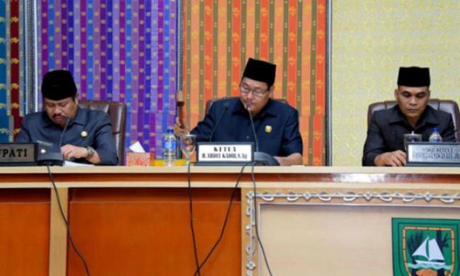 DPRD Bengkalis Sahkan APBD-P Tahun 2019