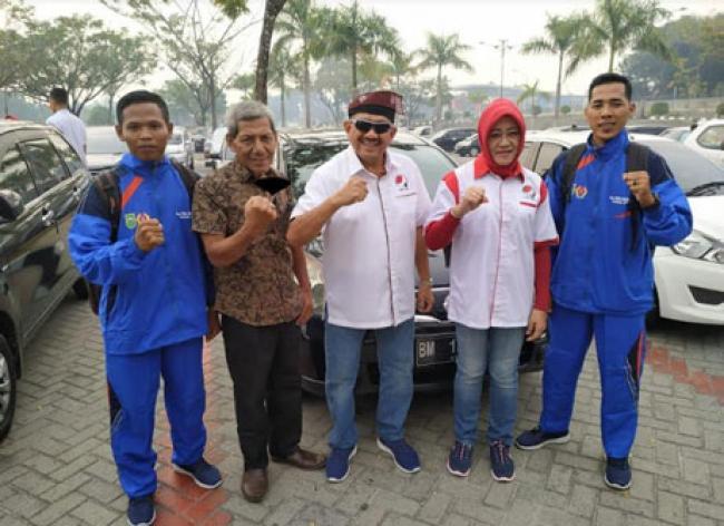 Perkuat Tim Fopi Riau, Dua Atlit Rohil Ikuti Pra PON di Jakarta
