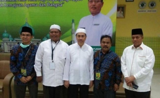 Gubri Sambut Kepulangan 443 Jemaah Haji Riau