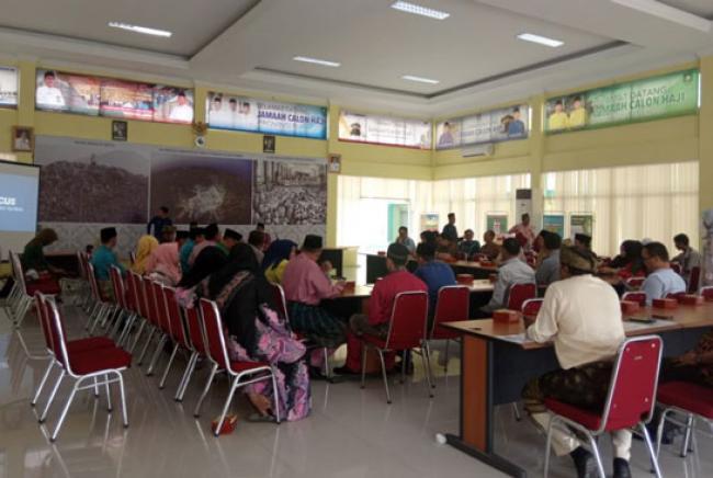 Jamaah Haji Riau Tiba Di EHA Tanggal 19 Mendatang