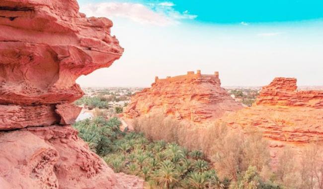 Kastil Zabal, Destinasi Wisata Sejarah di Arab Saudi