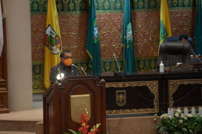 DPRD Riau Setujui Raperda Pertanggung Jawaban Pelaksanaan APBD Riau 2019