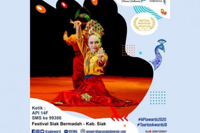 Festival Siak Bermadah Tampil di Ajang Anugerah Pesona Indonesia Award 2020